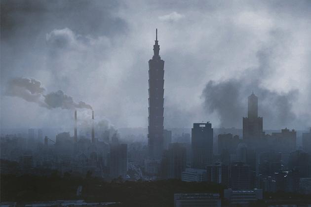 PM2.5偏高!國健署籲:戶外活動宜減少