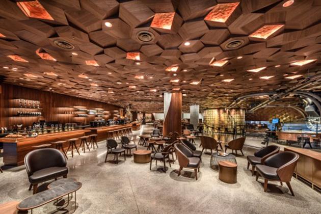 星巴克全球最大門市上海登場 導入AR體驗賣咖啡