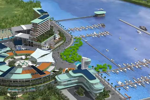 全國最大國際級 安平港遊艇碼頭新建工程啟動