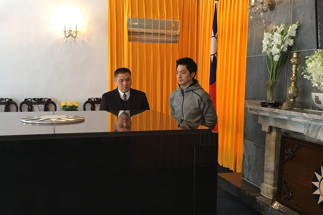 赴慈湖察看陵寢 蔣萬安:社會和諧台灣才能往前邁進