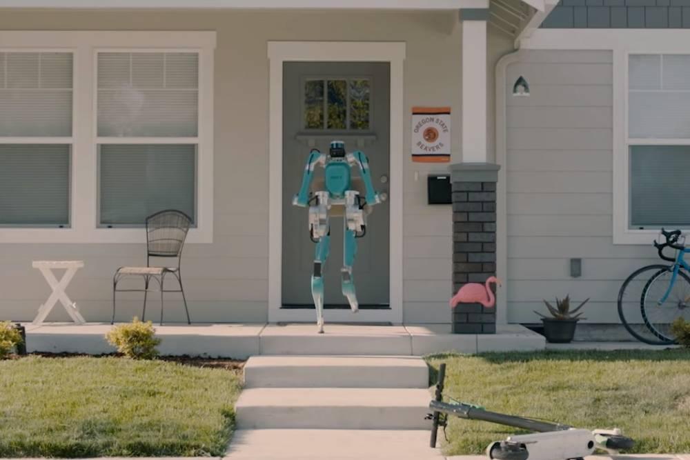 不只是汽車!福特攜手科技公司 研發擁有「雙腿」的送貨機器人
