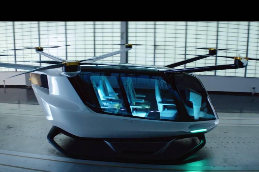 首部氫燃料電池空中計程車「SKAI」 一次能搭載5人、最長可飛4小時