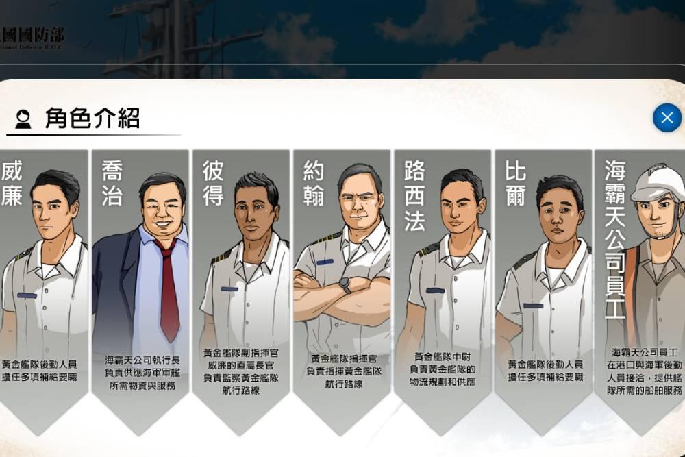 宣傳多元化!國防部推遊戲「士官長的抉擇」 面對誘惑能做出正確選擇嗎?
