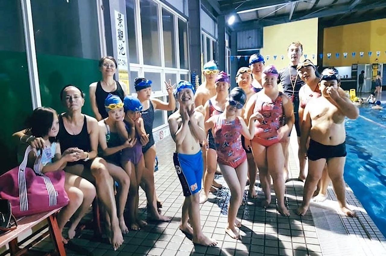 爭取參加2020東京藝術游泳節!讓台灣身心障礙選手為國爭光