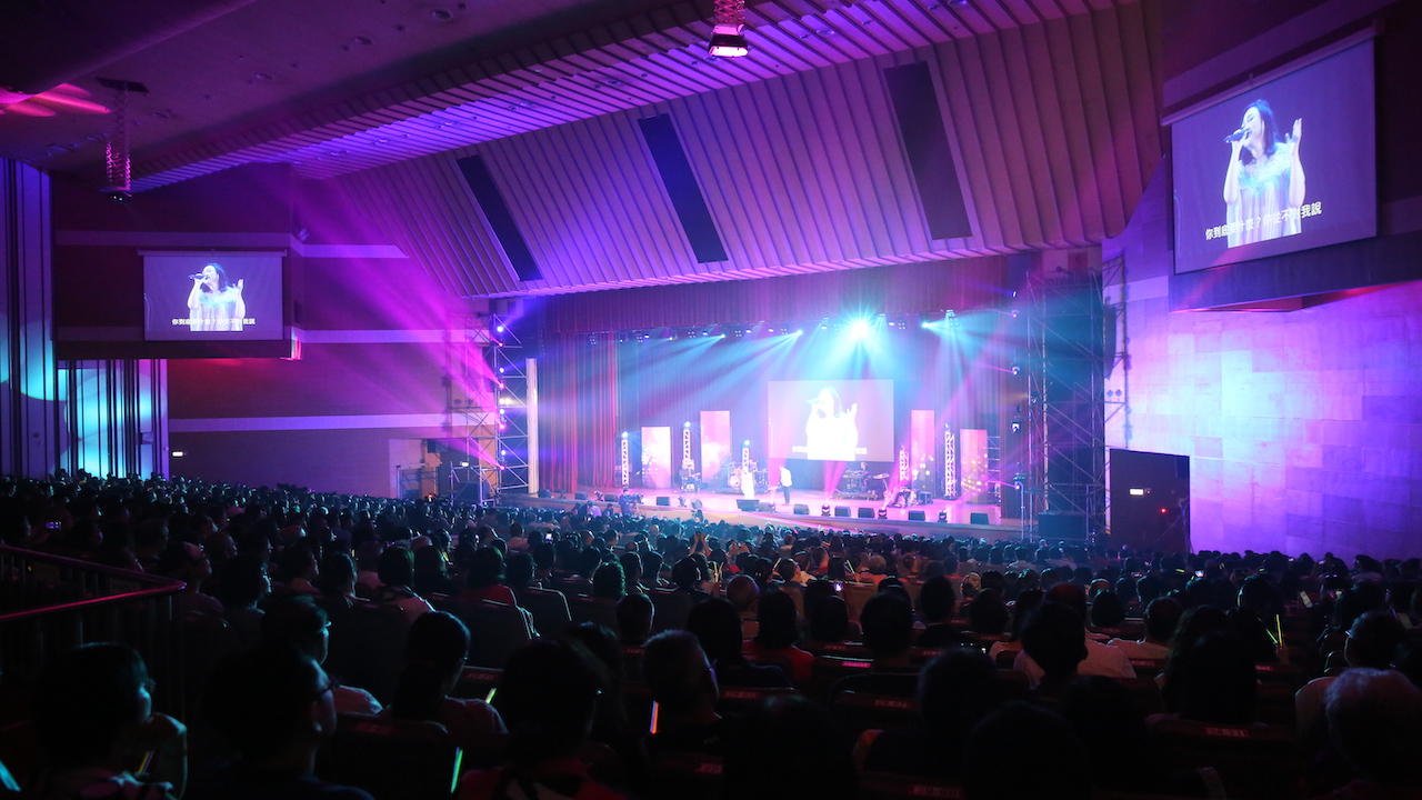 【有影】歡慶中興大學一百歲!興傳100演唱會上萬人共享民歌饗宴