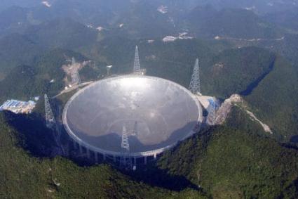 世界最大、「中國天眼」本月運行 將可找到外星生物!
