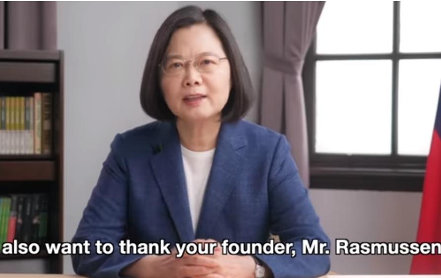 蔡英文國際發表台灣防疫成功經驗、聲援香港 國台辦怒勸民進黨放棄「謀獨」本性