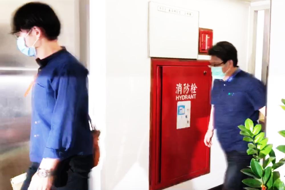 檢調搜索立委蘇震清國會辦公室調查是否涉賄案