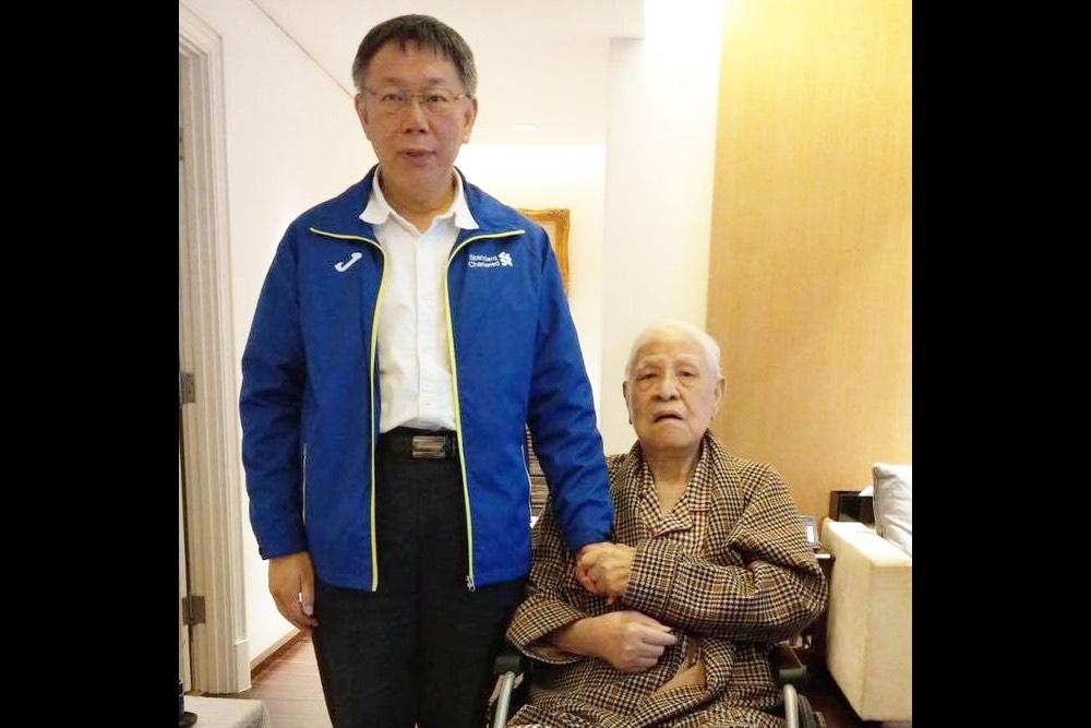 柯文哲:李總統留下的精神會由我們接棒傳承