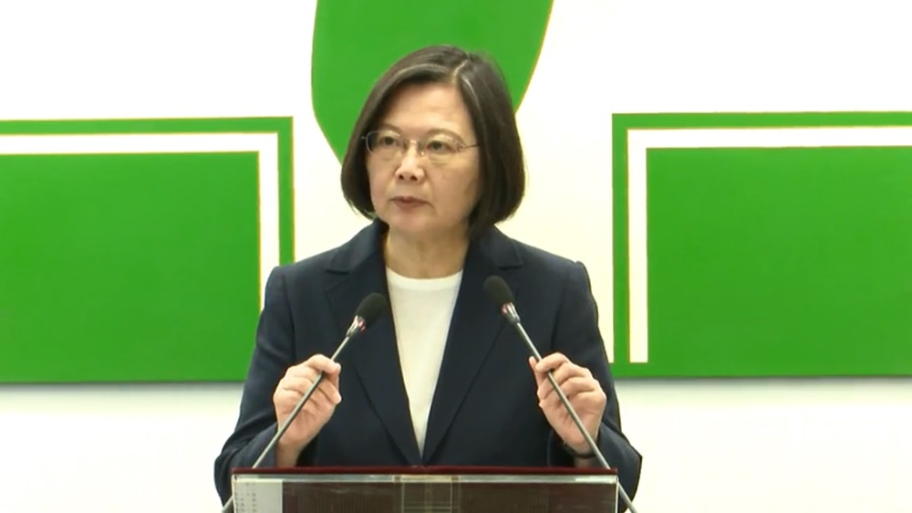 撐香港!蔡總統籲北京:當人民群起抗爭 政府應和人民溝通