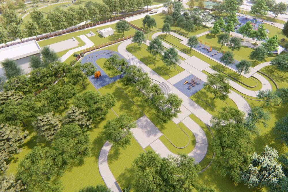 台中南屯親水公園明年3月完工