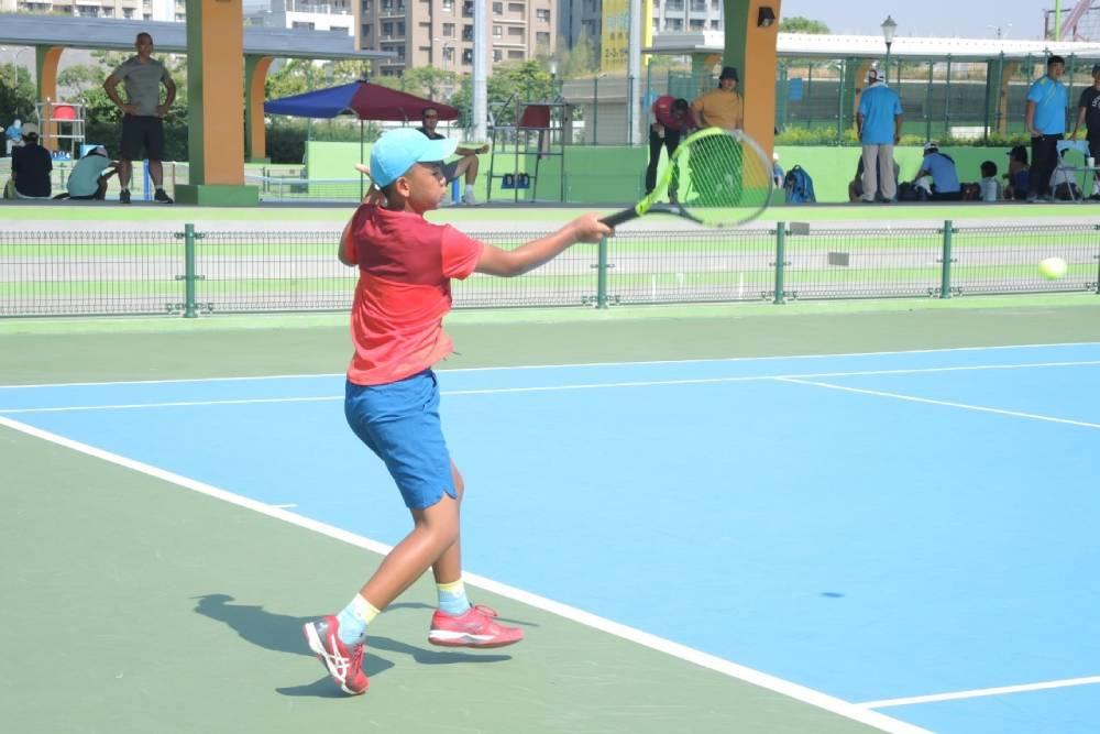 全國青少年網球錦標賽台中開打