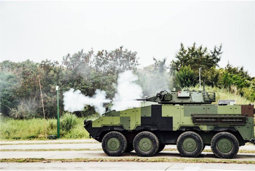 火力強大太優秀 軍方追加採購21輛雲豹甲車「反斬首」
