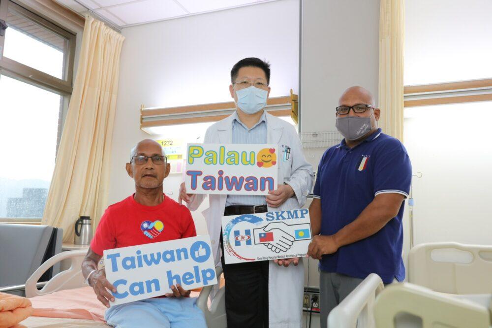 不明嚴重肝衰竭「人道專機」來台  台灣醫師救了帛琉罕病男一命!