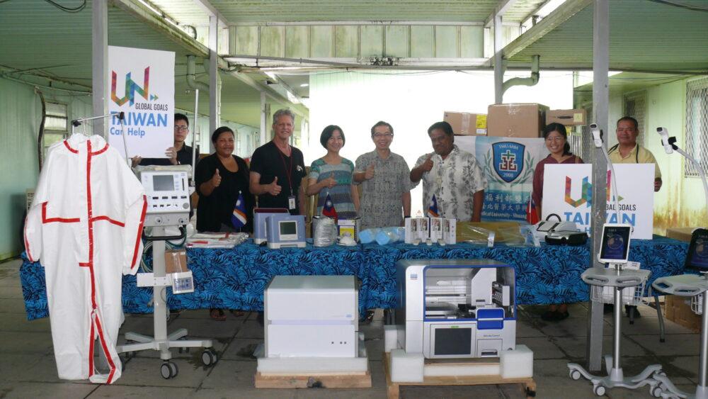 醫護視訊突破「入境禁令」  台灣捐逾400萬元防疫物資助馬紹爾