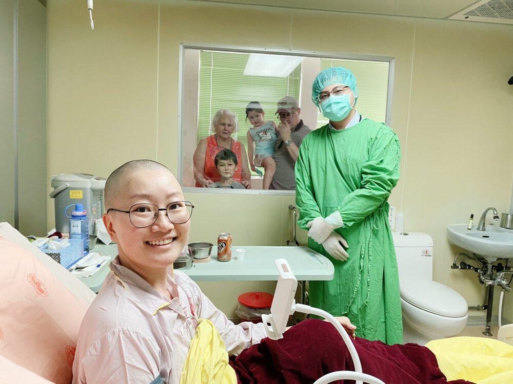 國境封鎖122天求醫無路!  美籍女靠台灣「骨髓移植」搶回2成生存率