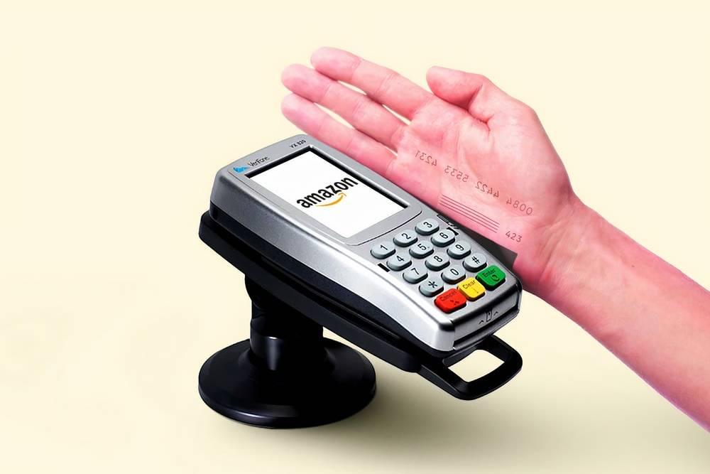 揮手就能結帳?亞馬遜「手掌支付」啟用 生物密碼化身支付條碼!