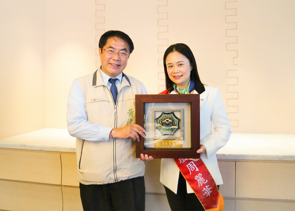 台南傑出經理人名單出爐 台南遠東飯店總經理周麗華獲殊榮