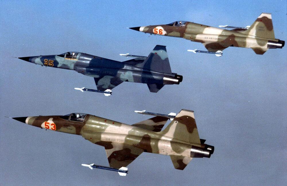 F-5E戰機/國機國造起點:中美軍事合作里程碑「虎安計畫」