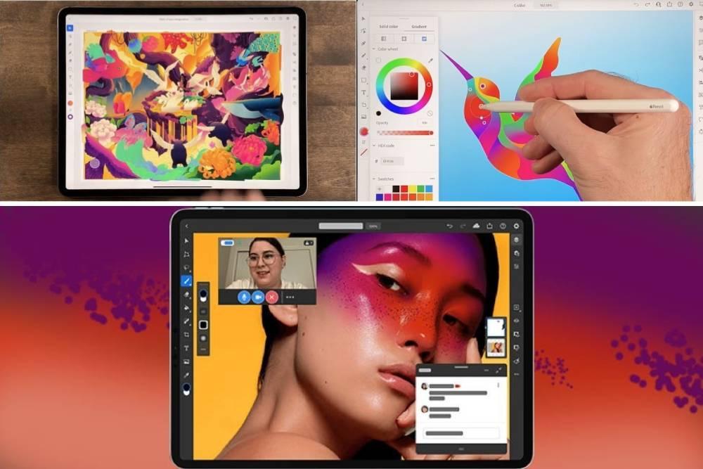 Adobe Photoshop推出AI支援新功能、繪圖軟體Illustrator iPad版登場
