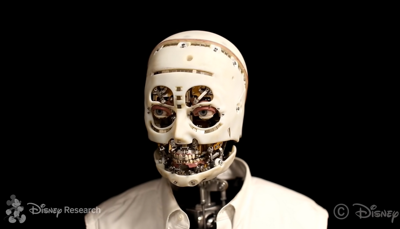 可看穿靈魂?迪士尼研發新型互動機器人 坦言更注重眼神交流、凝視