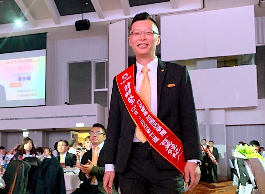 永慶不動產翁皓堅創業第一個月 業績已突破1500萬