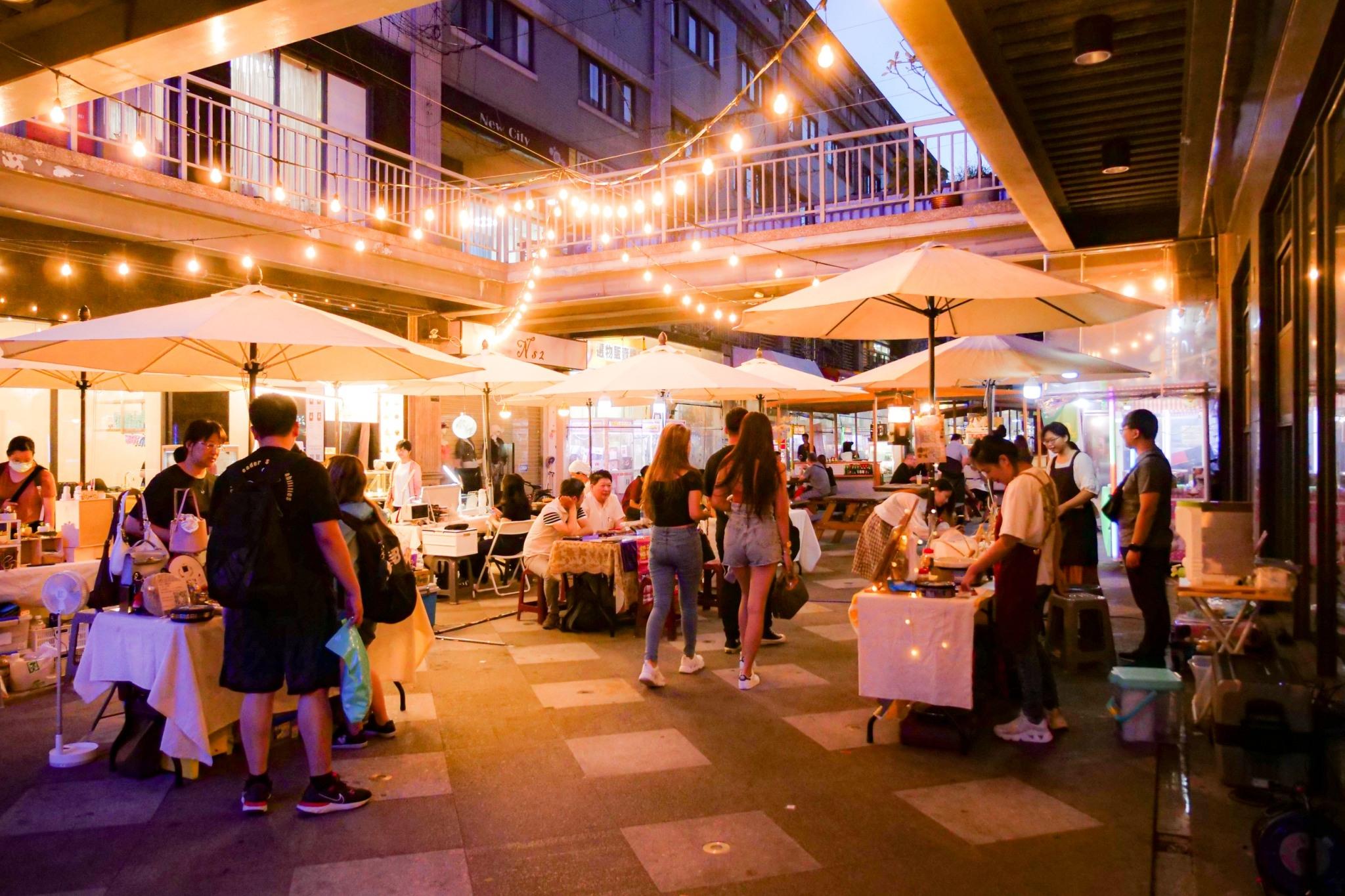 全台最美夜市將「游牧」草悟道 富地市場集合在地元素勾勒台中專屬美學