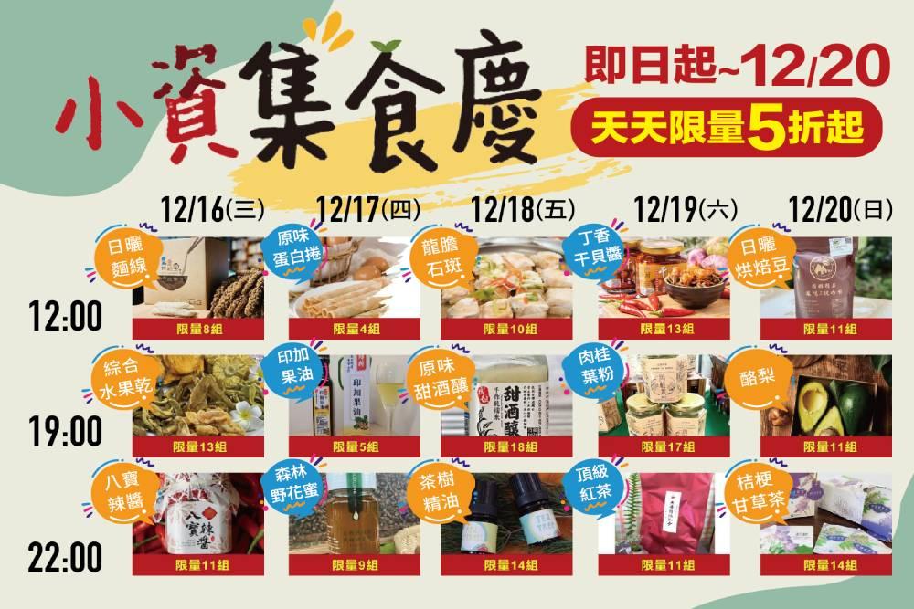 「小資集食慶」限量折扣瞬間秒殺 消費者把握機會搶購精選商品