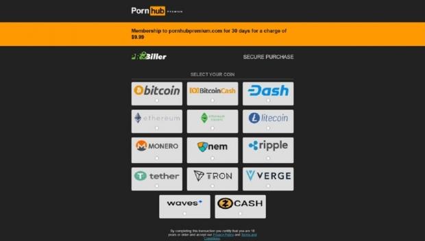 VISA、MasterCard中止與Pornhub合作 虛擬加密貨幣竟成老司機們訂閱的唯一繳費方法