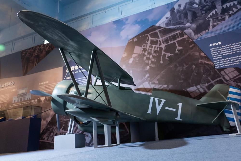 空軍百年建軍史特展 T-34飛行模擬機讓您親身體驗飛行