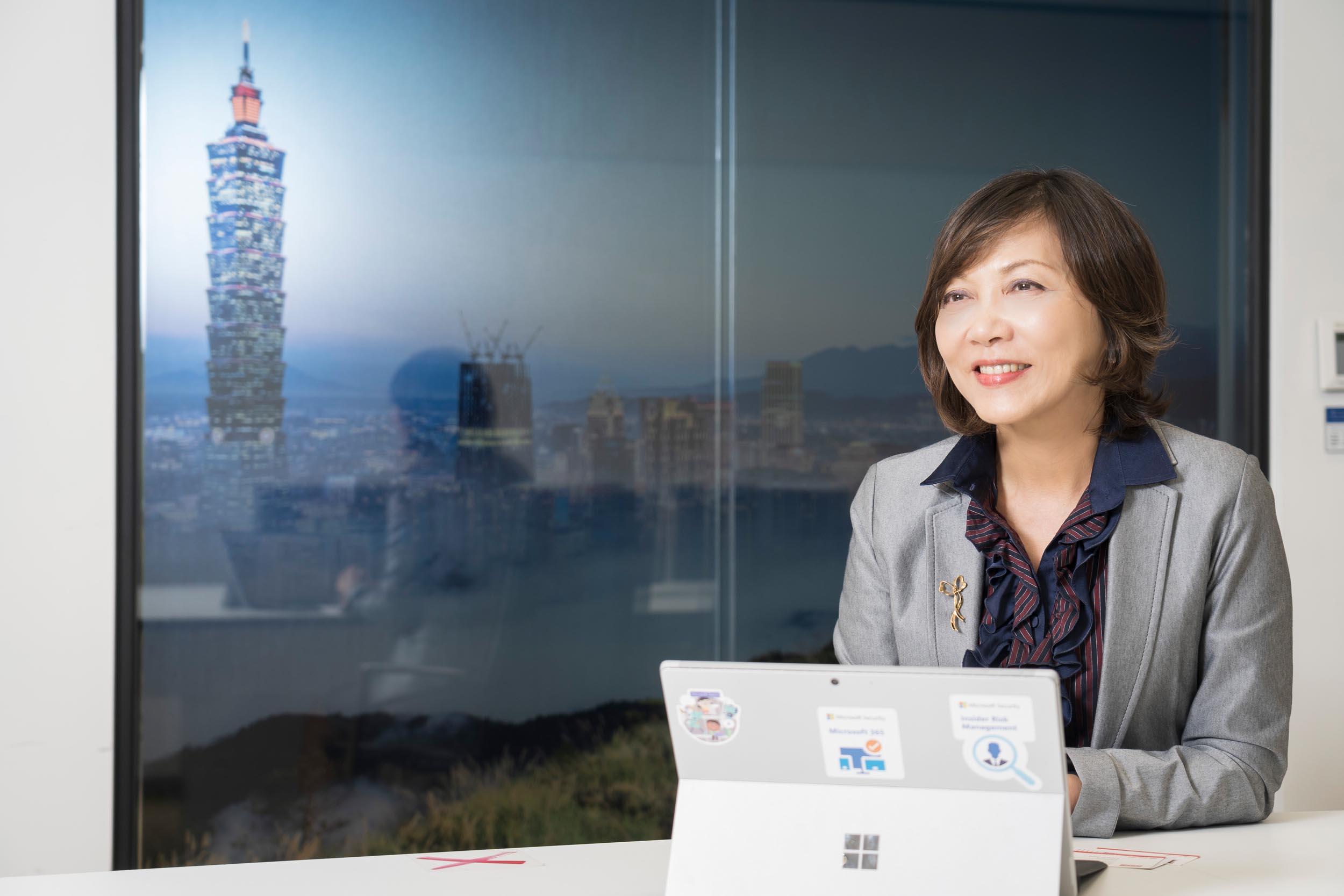 女力崛起!台灣微軟最新人事佈達 陳慧蓉接任首席營運長