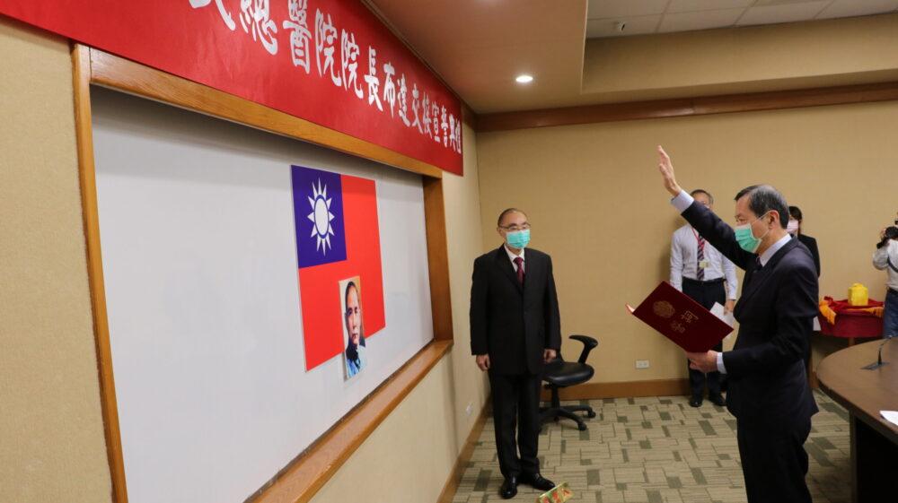 台北榮總院長不再懸宕  糖尿病權威許惠恒正式佈達上任