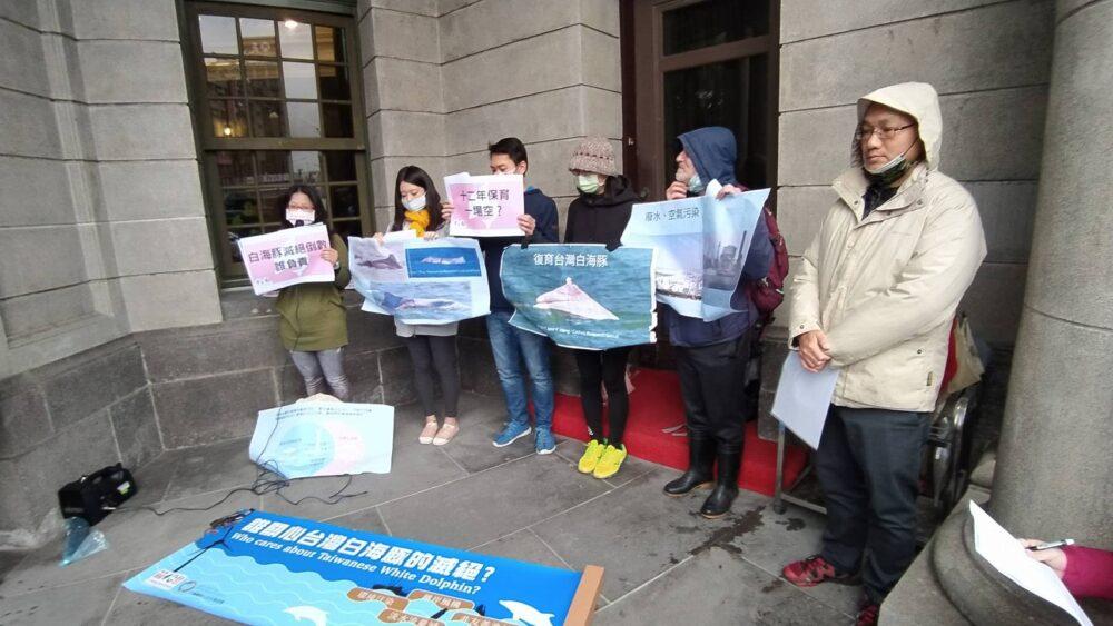風電、濫漁與開發等多重迫害/台灣白海豚將滅絕 環團監院陳情