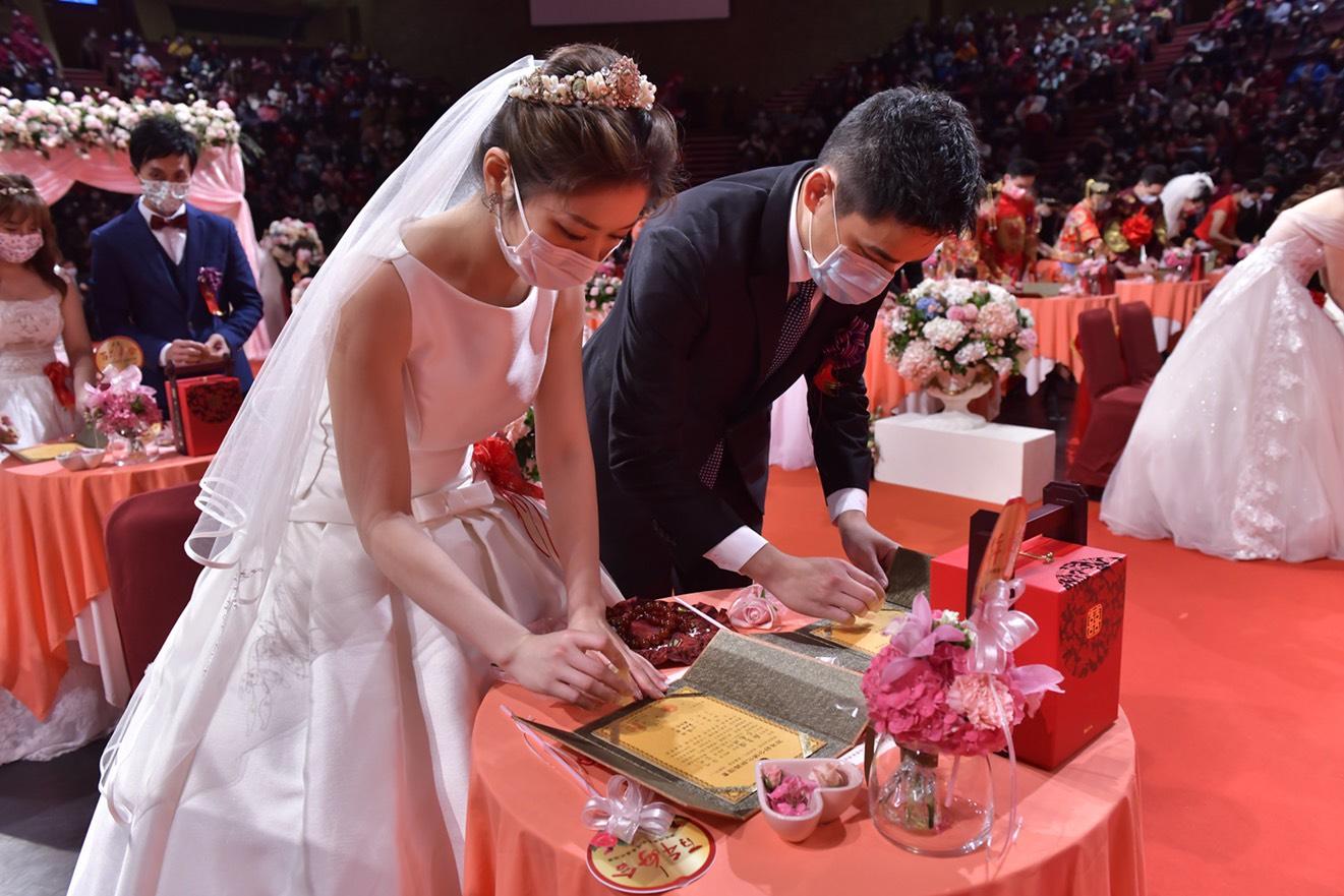 我們結婚了!牽阮的手 走一生的路 佛化婚禮暨菩提眷屬祝福禮