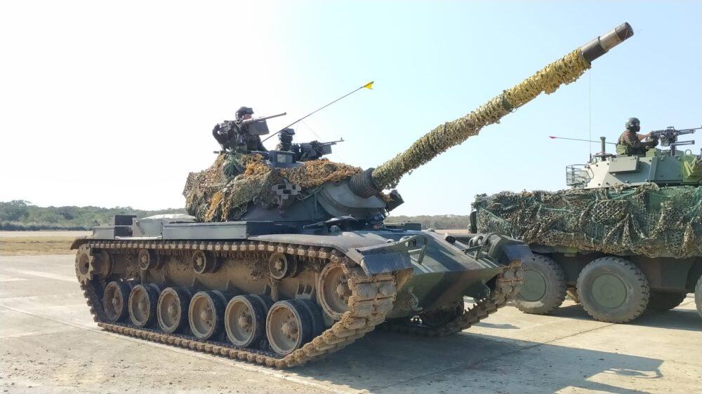 【春節戰備3-1】想定機場遭攻占 勇虎雲豹戰甲車馳援發揚火力奪回