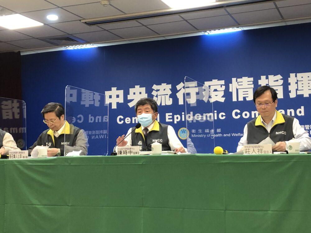 調影帶、訪同仁為染疫醫師「背書」  陳時中:他口罩戴得相當嚴謹