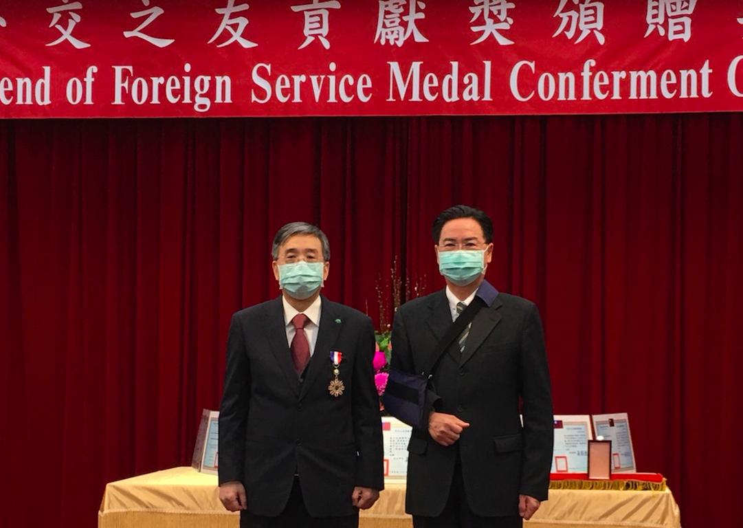援助台灣最遠邦交國「病歷不再用手寫」  國泰醫院獲外交貢獻獎