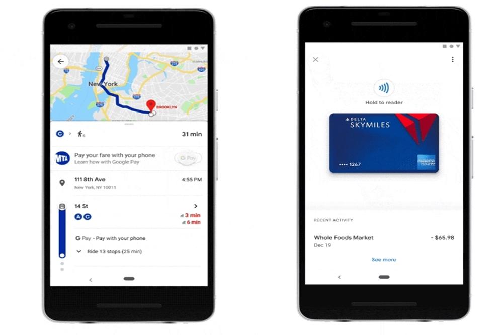 不用跳出程式!Google Maps整合Google Pay 買車票、繳停車費更方便