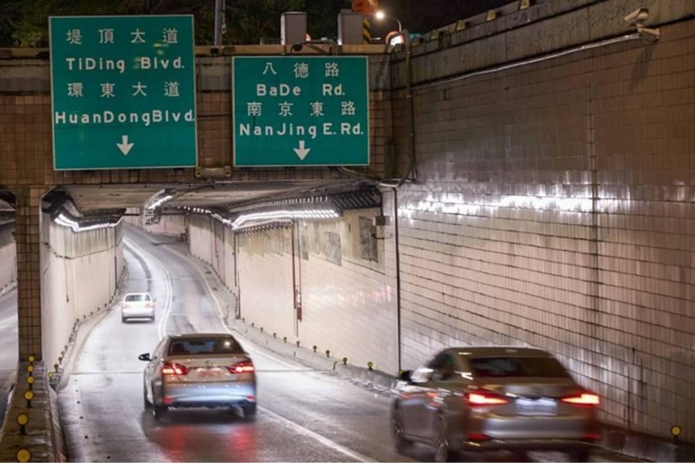 智慧永續照明系統守護行車安全 北市完成全台最大LED隧道燈更新