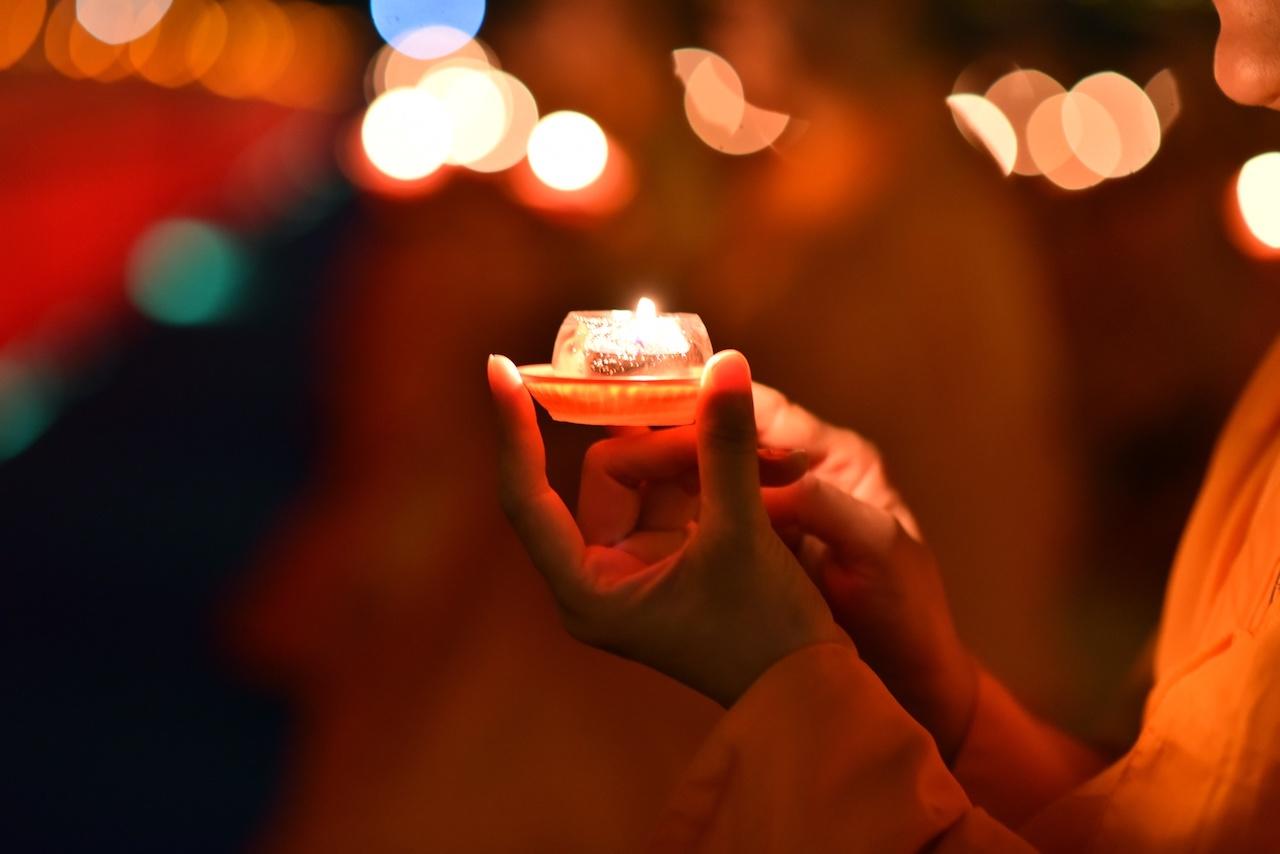 全球連線共祈福!佛光山2021年禪淨共修獻燈祈福法會 信眾聯網共襄盛舉
