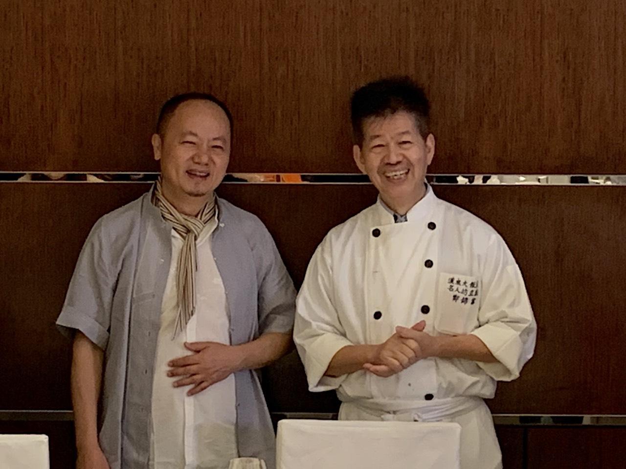精彩白魚宴再現!藝術家林伯禧邀香港隱世廚神鄭錦富大獻廚藝