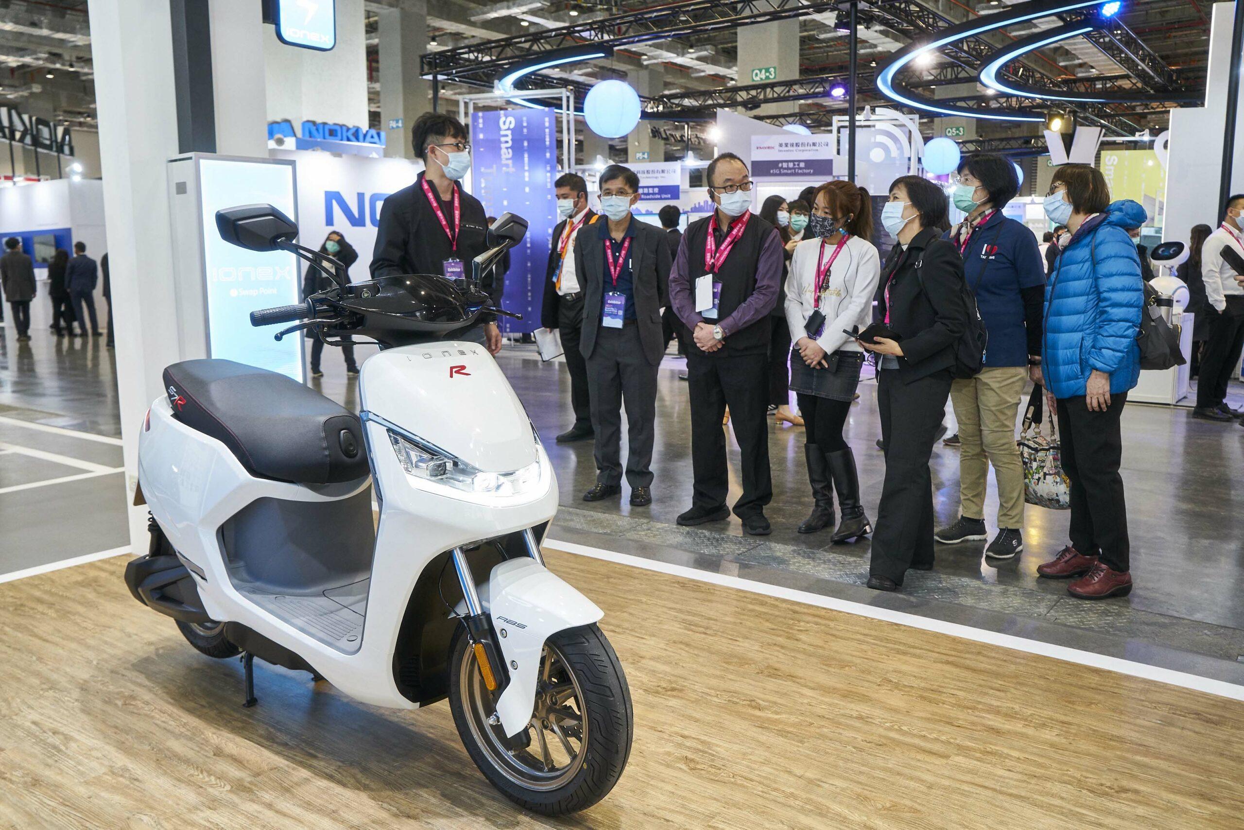2021智慧城市展圓滿落幕 光陽Ionex 3.0創新領先廣受矚目