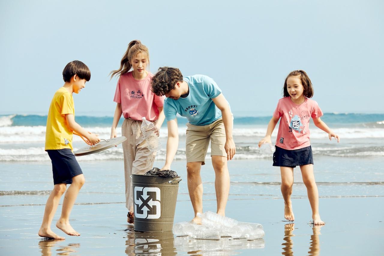 【有影】減塑守護珍貴海洋 Hang Ten攜手BIG BLUE推聯名親子系列