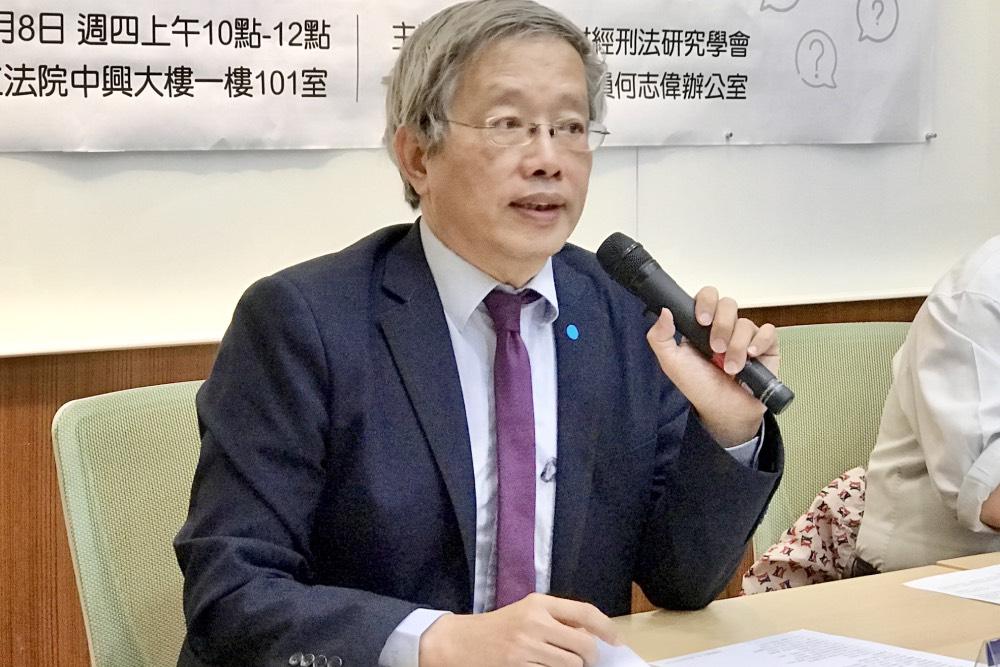 法學專家呼籲:外派行政機關首長者 不適合直接空降成為檢察長