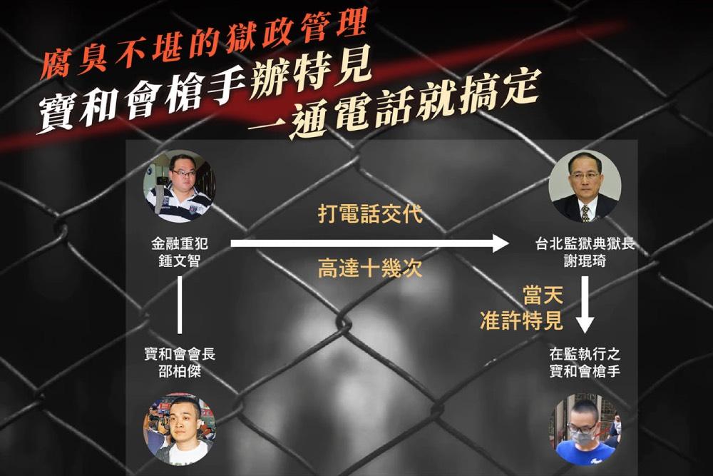 黃國昌午夜嗆問:陳明文「選民服務」寶和會 那位選民是哪位大哥?