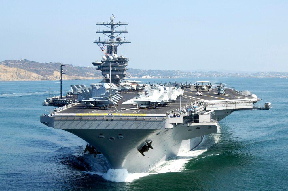 最大軍艦尼米茲號航母服役46週年 第三代福特號完成戰測