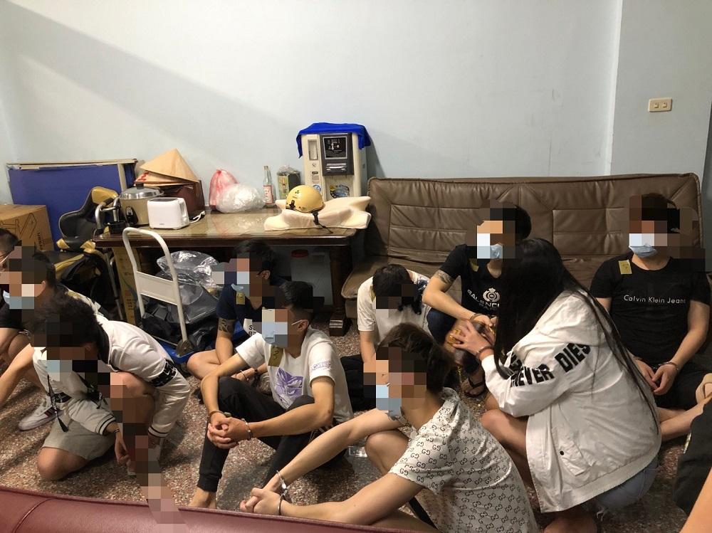 騙到美國 華裔工程師跨海報案警中南部逮20人