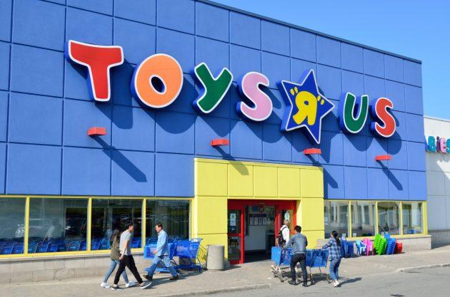 玩具反斗城收攤 傳亞馬遜有意買下部分門市