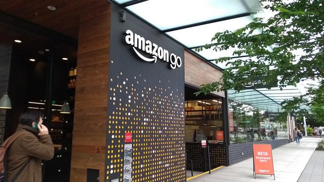 免排隊結帳!Amazon Go無人商店進軍紐約