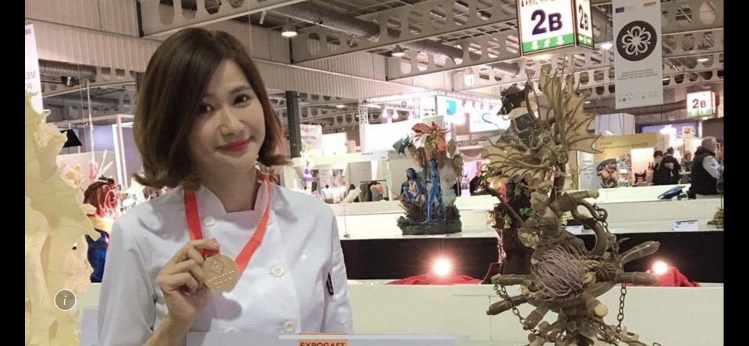 美女烘焙師裴志偉 拿下世界頂級賽第六金